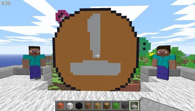 Großprojekte in Minecraft - die Königsdisziplin des Klötzchen-Bauens.