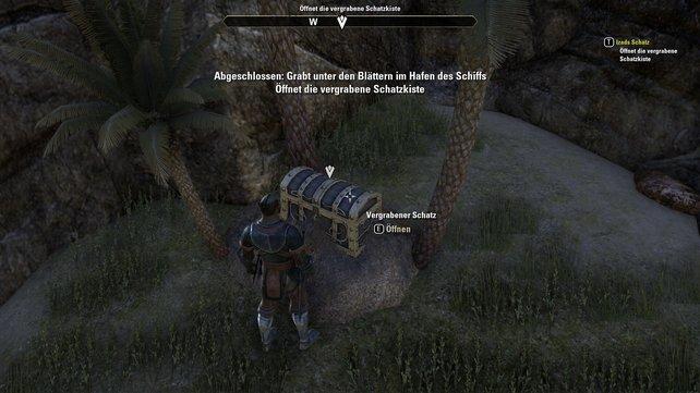 Auf Stros M'Kai findet ihr Piraten und einen vergrabenen Schatz.