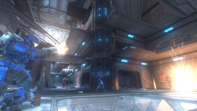 Insgesamt gibt es sechs zusammengetragene Mehrspieler- und eine Firefight-Karte.