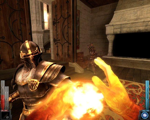 Der Feuerball, eine mächtige magische Waffe.