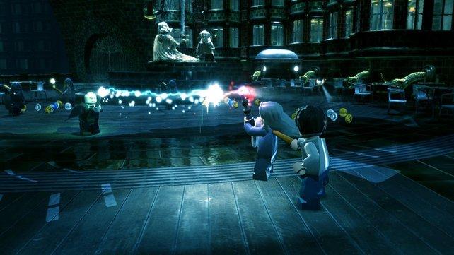 In LEGO Harry Potter lernt ihr eure magische Seite kennen.