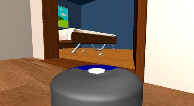 Unter dem Bett leben die Wollmäuse.