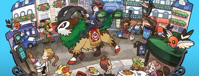 Pokémon X und Y: Neues Baum-Pokémon im Video, drei Neulinge auf Bildern