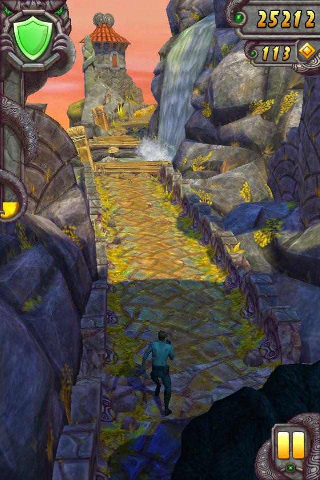 Temple Run 2 führt durch entlegene Gegenden.