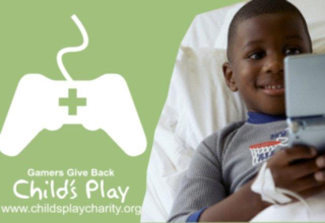 Child's Play lässt kranke Kinderherzen höher schlagen.