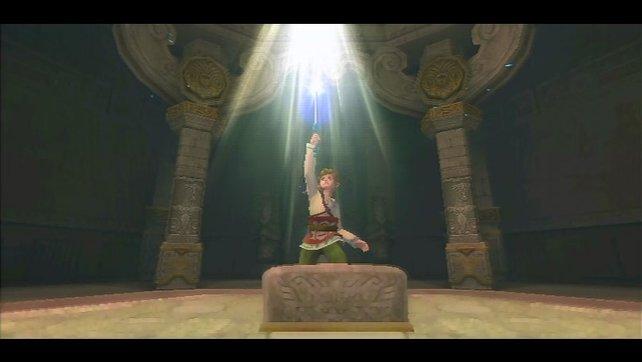 Fünf Jahre hat es gedauert, bis Link in einem neuen Wii-Abenteuer sein Schwert zieht.