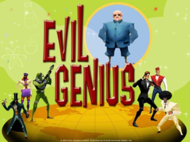 Dr. No meets Comic - Evil Genius