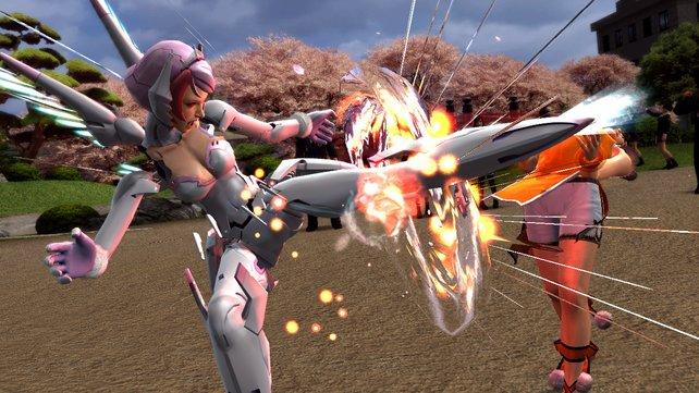 Robo-Girl Alisa ist seit Tekken 6 mit an Bord.