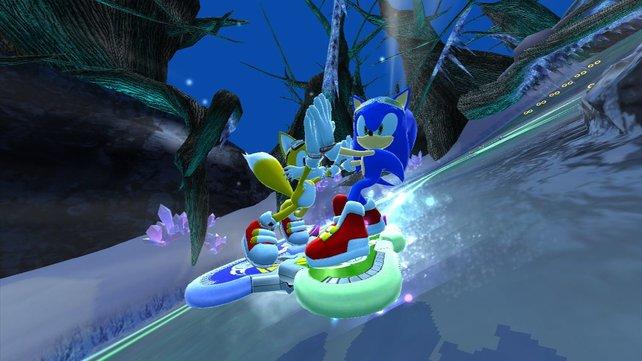Sonic und seine Freunde sind wieder da!