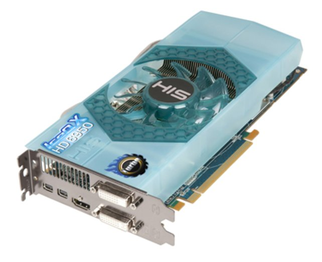 Radeon HD 6950 IceQ X Turbo: Mittelklasse-Grafikkarte vom Hersteller HIS.