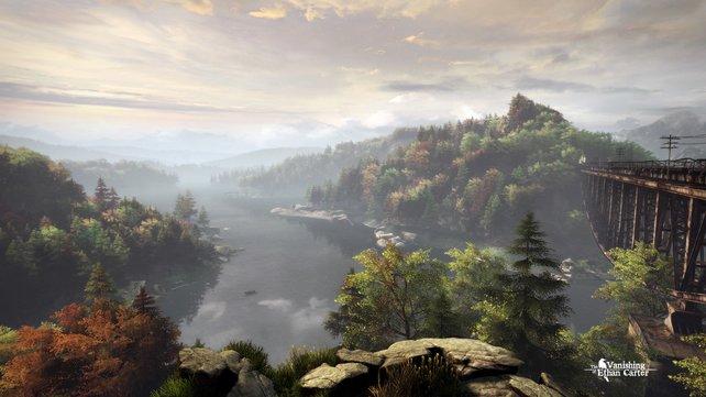 Der Herbst hält Einzug in Red Creek Valley.