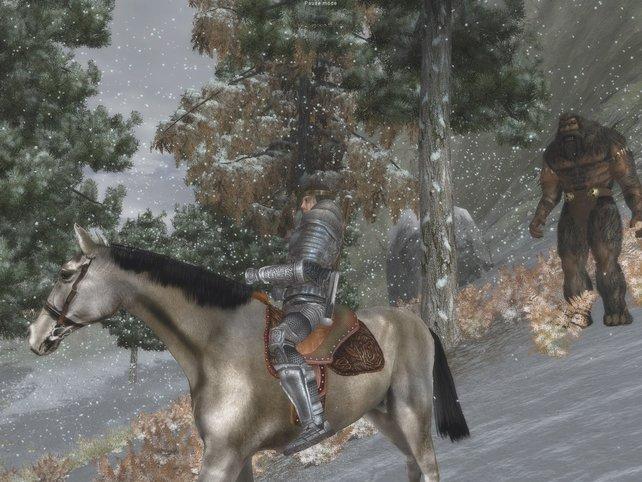 """Kleiner Ausritt gefällig? In """"The Temptation"""" reitet ihr nicht nur Pferde, sondern zum Beispiel auch Kamele."""