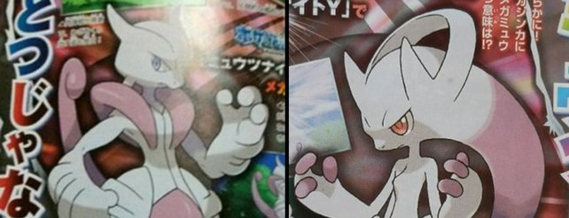 Pokémon X und Y: Eigene Mega-Evolution von Mewto in jeder Edition