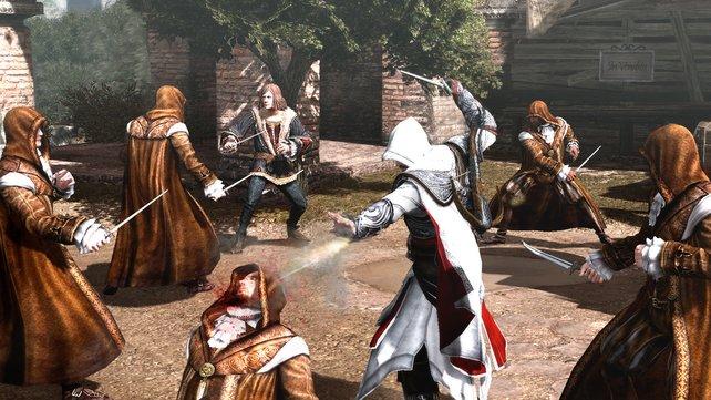 """In """"Da Vincis Verschwinden"""" bekommt Ezio es mit Mönchen zu tun."""