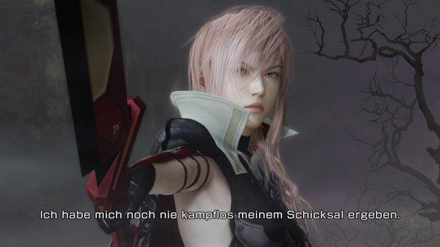 Man spricht Deutsch. Lightning Returns verfügt über englische Sprachausgabe und deutsche Untertitel.