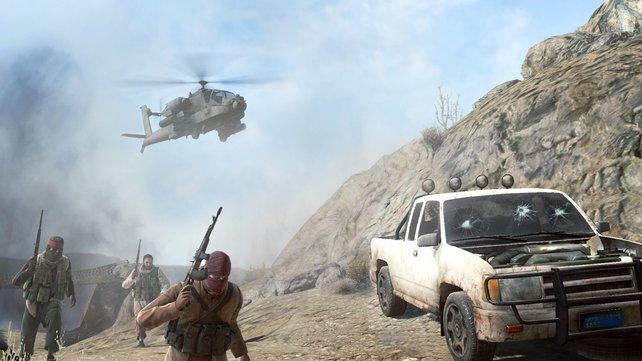 """Erst Taliban, dann """"Opposing Force"""" - die Gegner in Medal of Honor."""
