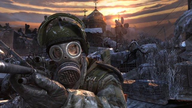 Die Fortsetzung des Grusel-Shooters spielt in Moskau.