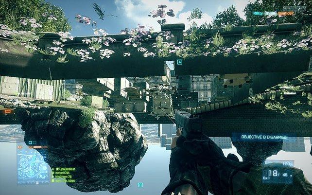 Der Tod kommt in Battlefield 3 wohl eher von unten.
