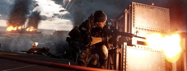 Battlefield 4: So nutzt ihr Kinect für Xbox One auf dem Schlachtfeld
