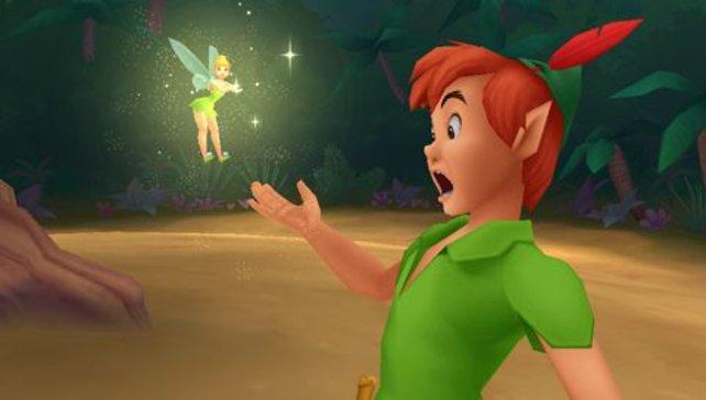 Selbst Tinkerbell muss über die Visualisierung meckern!