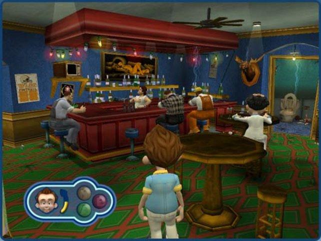 Larry Laffers Gastauftritt in der Bar