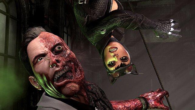 Einer der größten Feinde Batmans: Two-Face.