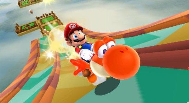 Die Levels mit Yoshi machen besonders viel Spaß.