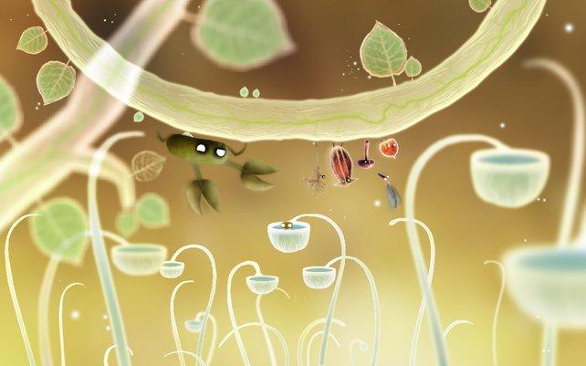 Äußerst liebevoll gestaltet rührt Botanicula fast zu Tränen.