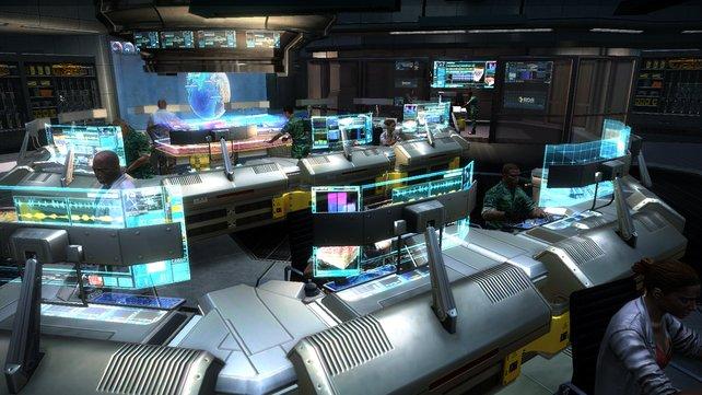 Sieht aus wie die spieletipps-Redaktion, ist aber eine Szene aus dem Spiel.