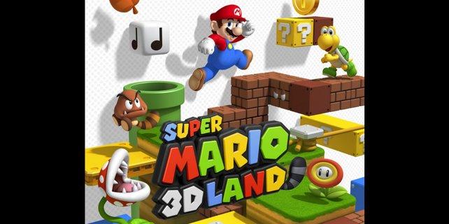 Einen gekonnten Mix aus 2D und 3D gibt's in Super Mario 3D Land.