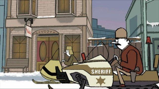 Der Zeitungscomiclook gibt dem Puzzle-Agenten sein ganz eigenes Flair.