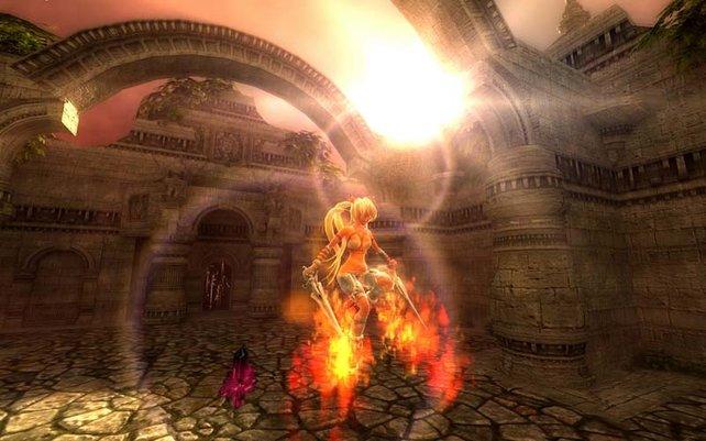 Die Waffen erinnern stark an die aus Final Fantasy VIII