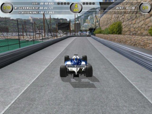 Mit dem BMW unterwegs in Monte Carlo