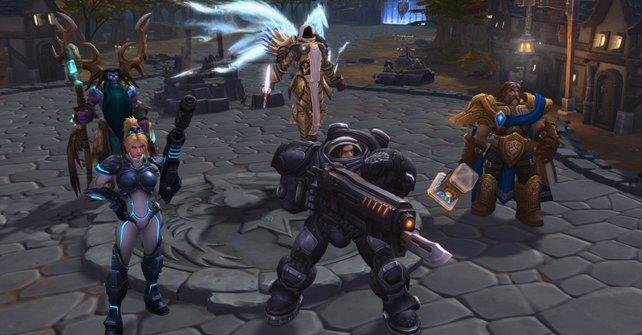 In Heroes of the Storm trefft ihr viele alte Bekannte aus Blizzard-Spielen.
