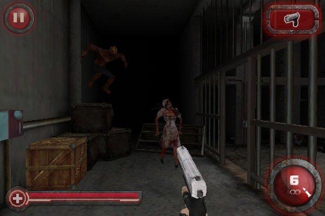 Zombie Crisis 3D: Nicht der schönste Railshooter, aber trotzdem unterhaltsam.