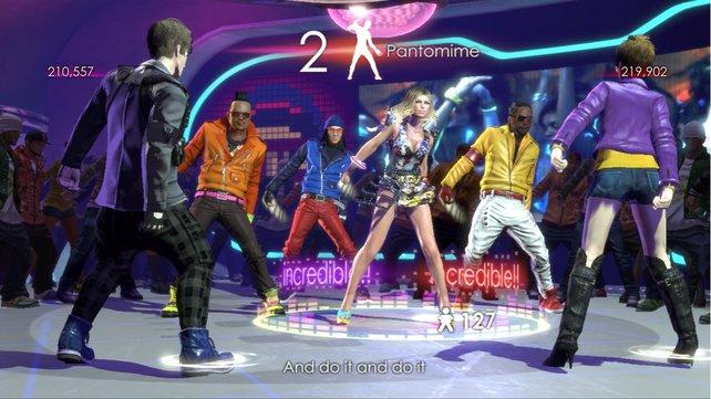 Die Black Eyed Peas tanzen vor und lehren euch die Tanzschritte.