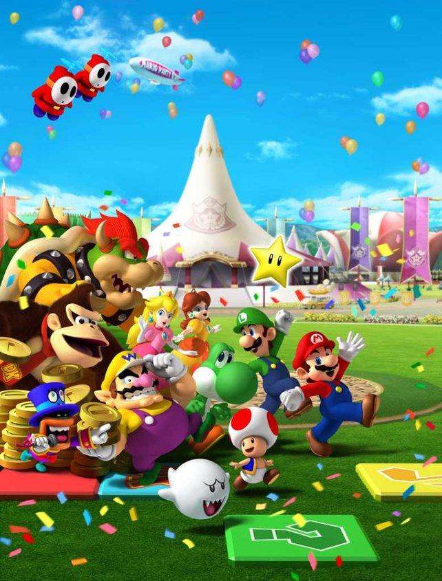Die nächste Party kommt vermutlich für 3DS oder WiiU. Abwarten!