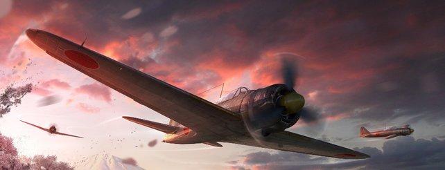 World of Warplanes: Rabatte zum Jahrestag des Kriegsendes