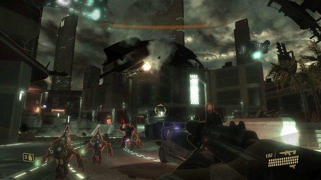 Erwähnten wir schon, dass weite Teile des Spieles arg dunkel sind?