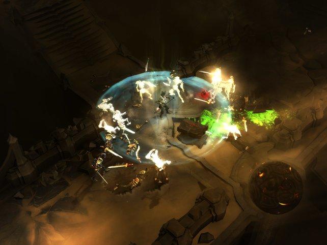 Hübsche Effekte im knackigen Spielerlebnis wird in Diablo III versprochen.