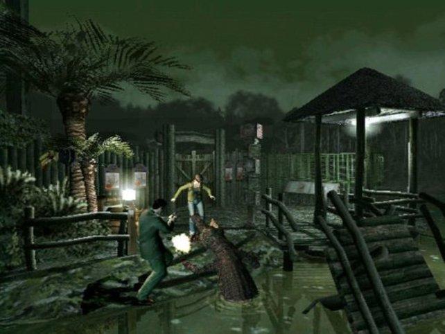 Süß - Zombie-Kindern wird sogar ein eigener Spielplatz beschert...