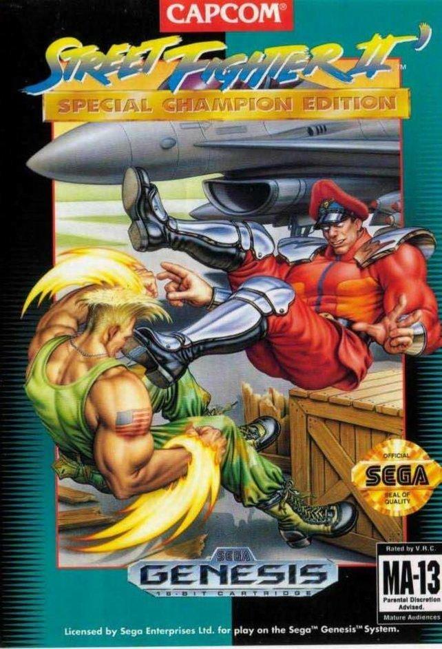 Die Special Champion Edition von Street Fighter 2 fiel vor allem durch ihre geschmackslose Hülle auf.