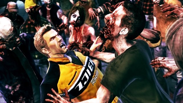 Neues Spiel, neuer Held: Chuck Greene kämpft sich durch die Zombie-Horden.