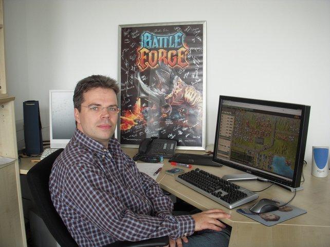 Volker Wertich steht für Qualität: Er entwickelte die wirklich (!) innovativen Titel Spellforce und Battleforge.