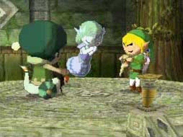 Zeldas Geist ist euer treuer Begleiter.