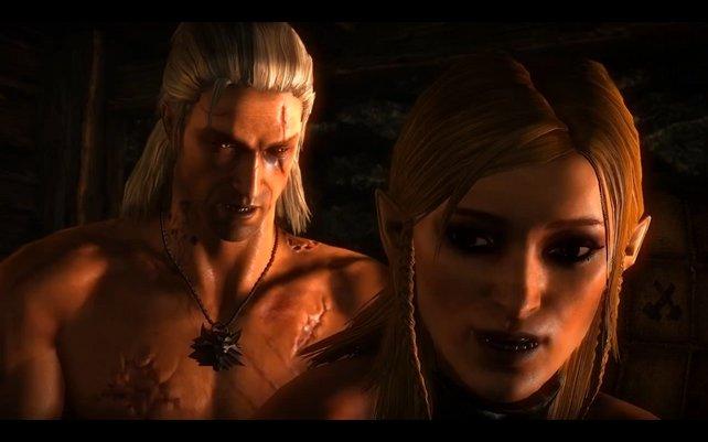 Das Spiel bietet Geralt nicht nur feindliche Stellungen.