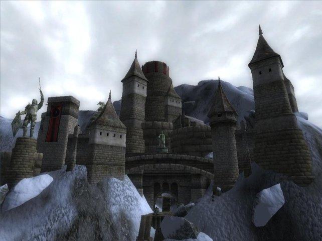 Die höchstgelegene Burg Cyrodiils - Burg Rabenstolz. Sie kann sogar bald euch gehören.