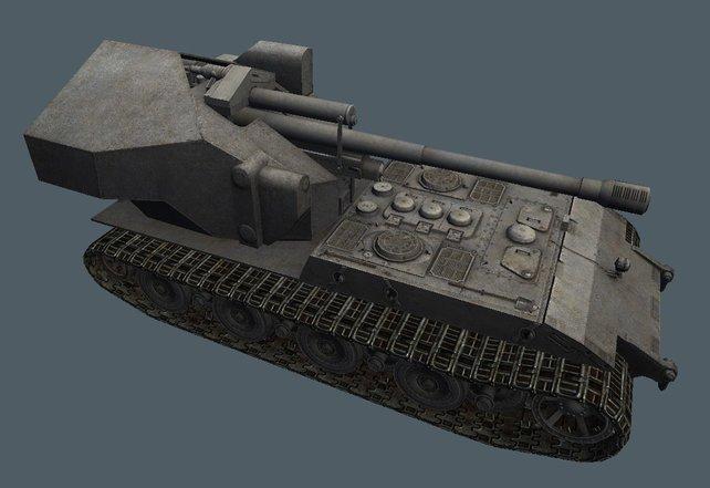 Der neue Schadens-Gott! Wenn es um Schaden pro Minute geht, führt kein Weg am Waffenträger E-100 vorbei.