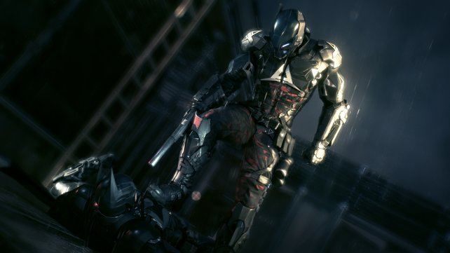 Ein neuer und ungemein gefährlicher Gegner: Der Arkham Knight.