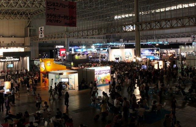 Die Tokyo Game Show stellt dieses Jahr einen neuen Besucherrekord auf.